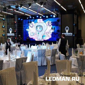 Экраны Ledman для мероприятий